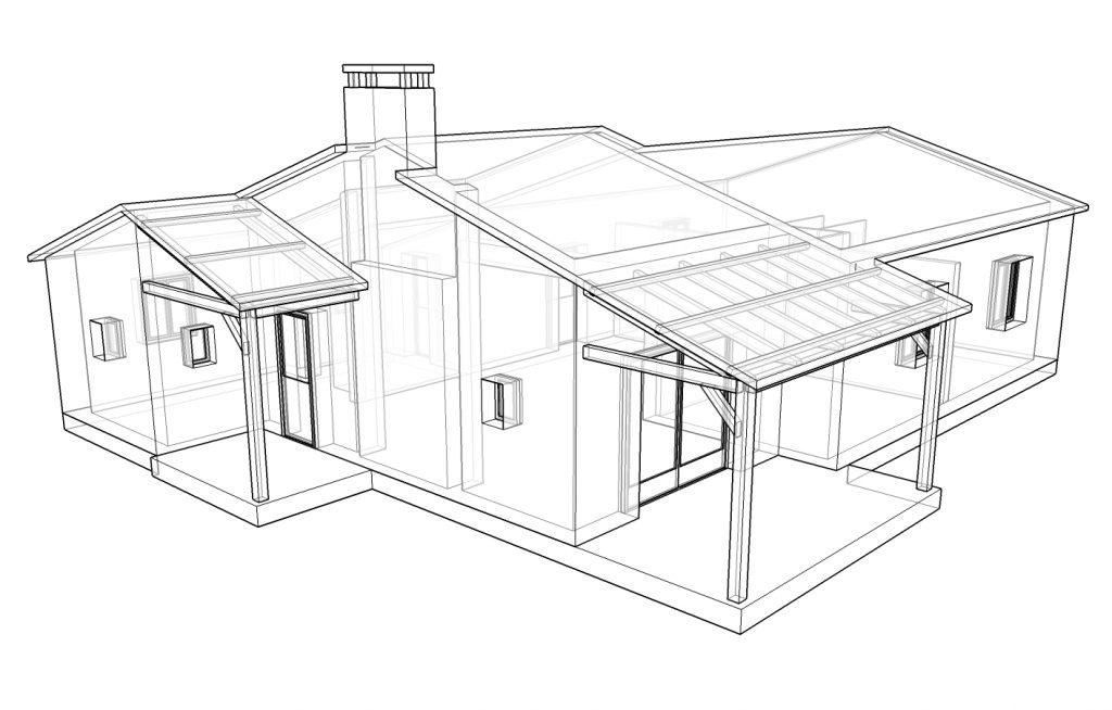 Modèle de maison 3D