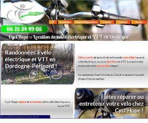 Page d'accueil basique grand écran