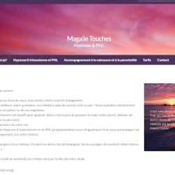 Magalie Touches - Page d'accueil