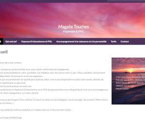 Magalie Touches - Page d'accueil